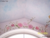 Clouds and Floral Ceiling