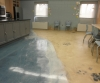 Decorative Concrete and Epoxy Over Vinyl Floor
