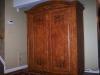 Burl armoire