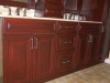 Cabinets refinishing, antique cherry