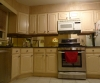 Painted and glazed cabinets