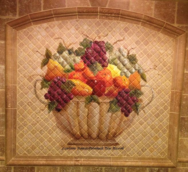Murals debbie viola for Custom mosaic tile mural