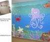 Underwater mural pediatric dentist office Smithtown, Long Island
