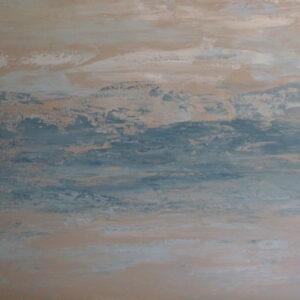 BLUE SAND, # 51, 30 x 40 Textures, Acrylics ANITA 8/4