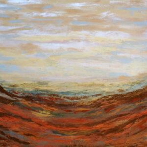 Coastal Path # 22  36 x 48