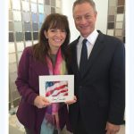 Gary Sinise and Debbie Viola