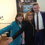 Debbie Viola with Robin Baron and Ryan Serhant