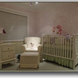 KIDS Nursery Lavendar _ Stripes