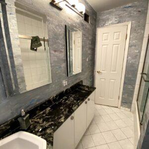 WALLS - BATHROOM -AFTER BAYSIDE