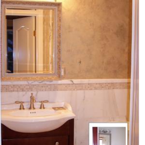 WALLS - VENETIAN PLASTER BATHROOM BY DEBBIE VIOLA