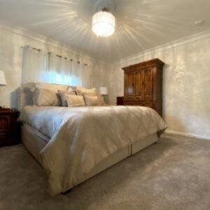 WALLS - WHITE PLASTER BEDROOM