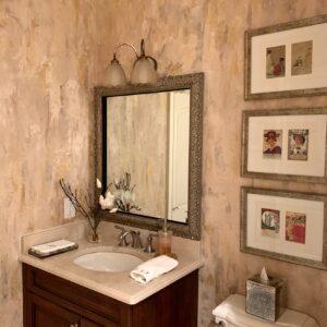 walls - vertical plaster by debbie viola