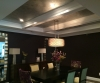 Metallic Ceiling, Silver & Gold, Meadowbrook Pointe