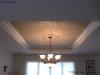 Shimmered plaster ceiling