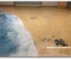 Decorative Concrete and Epoxy Over Vinyl Floor