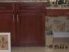 Raised panel bathroom cabinet