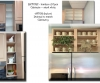 Laminate Interior Cabinets -- Painted to Match Outside