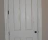 Flat panel door -- trompe l\'oeil