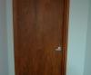 AFTER Faux Woodgrain Interior Steel Doors NYC Office