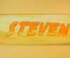 Handpainted sign for Steven, Amityville