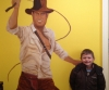 Life-size Indiana Jones mural for Steven Heckman