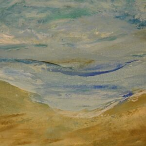 24x48 Water's Edge Coastal Seascape Painting