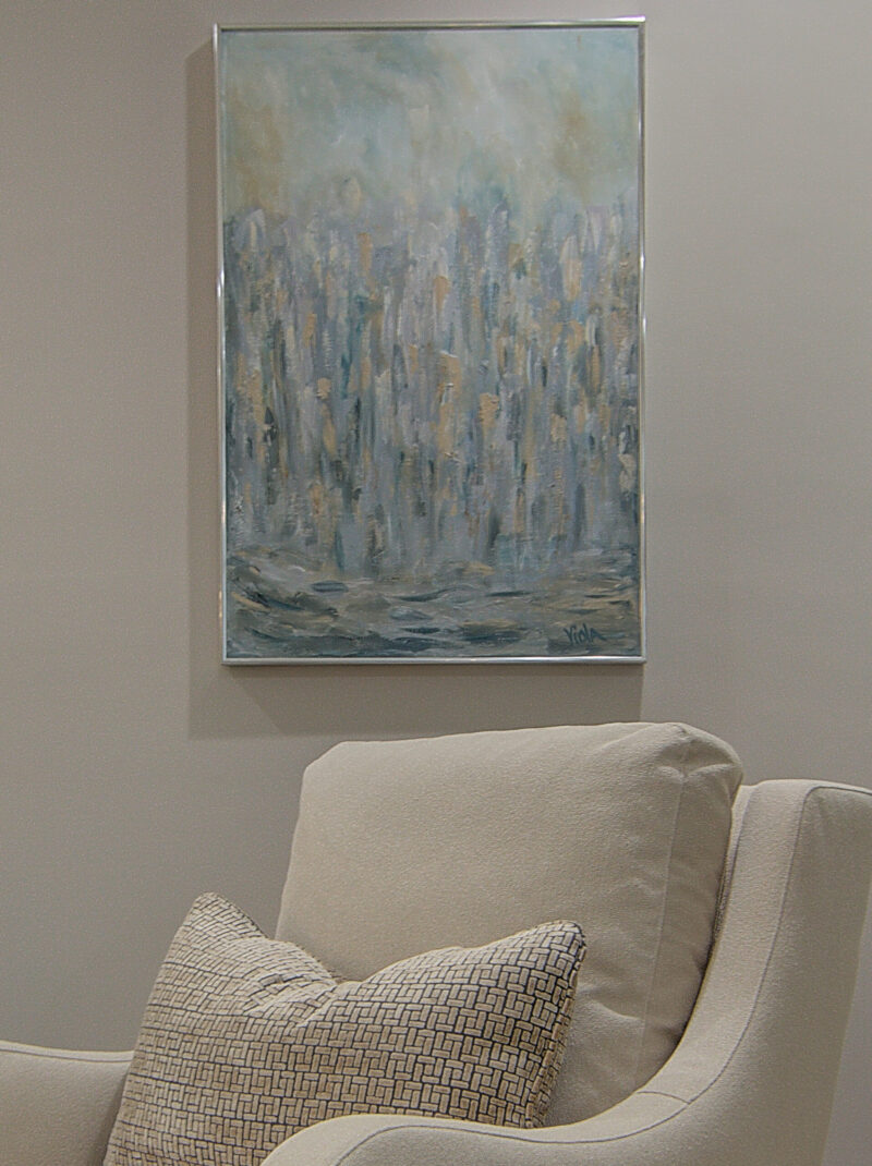 ART BY DEBBIE VIOLA - CITY ABSTRACT PEGGY