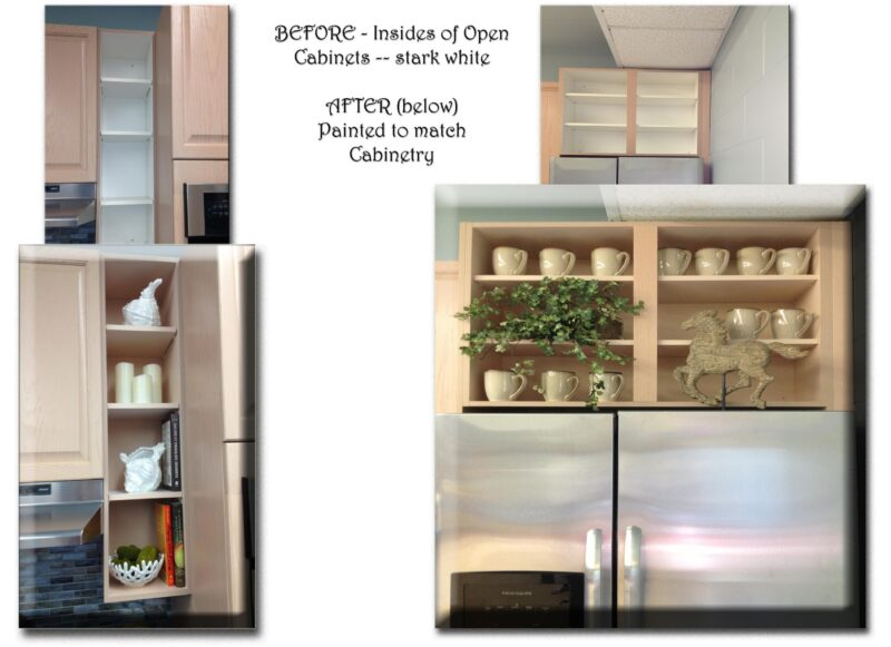 ECLECTIC PROJECT - INSIDE CABINETRY BY DEBBIE VIOLA